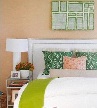 妙招:床头背景墙巧设计