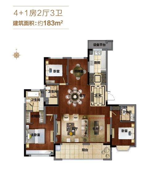 王牌点评第4期:包河区183㎡超大改善宅 满足你对生活的所有梦想