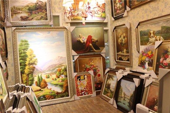 3.28探店梦语画廊 纯手绘油画的专业画廊