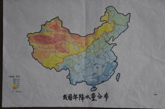 话说历史老师手绘世界地图是很牛,但是地理老师手绘出来的地图,那才真