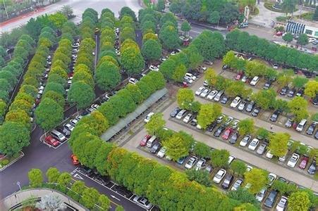 生态停车场平面图-合肥面积最大闲置空地将变身 改造后可成生态停车场