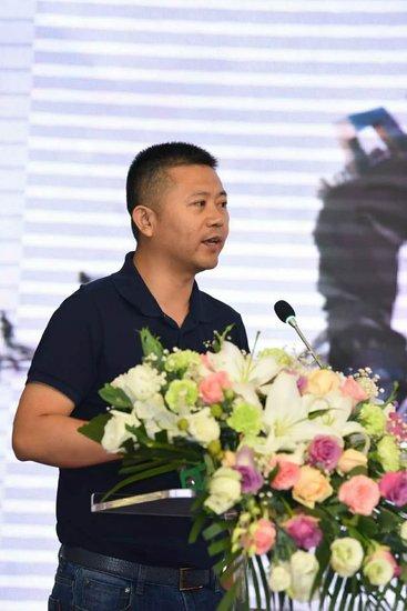 腾扬广告总经理葛中华致辞