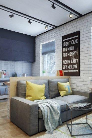 小空间大收纳 俄罗斯迷你公寓显更大