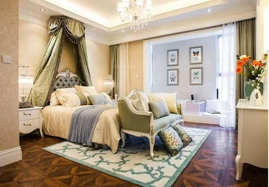 宜家风格卧室装修效果图图片
