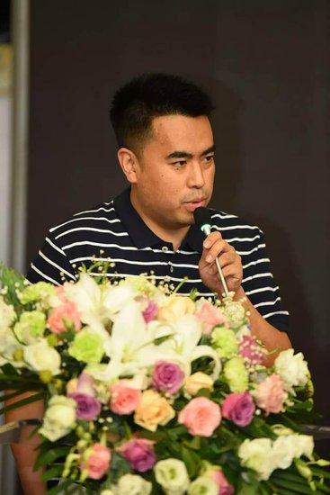 中国舞蹈家协会街舞委员会副秘书长董建勇致辞