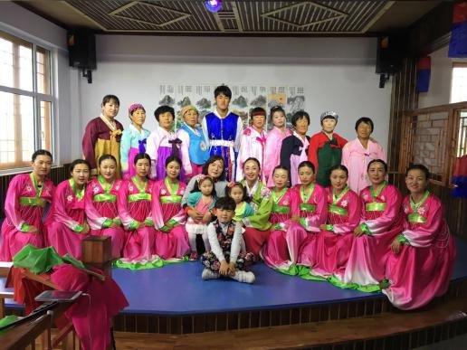 朝鲜族民俗旅游圣地——松花村