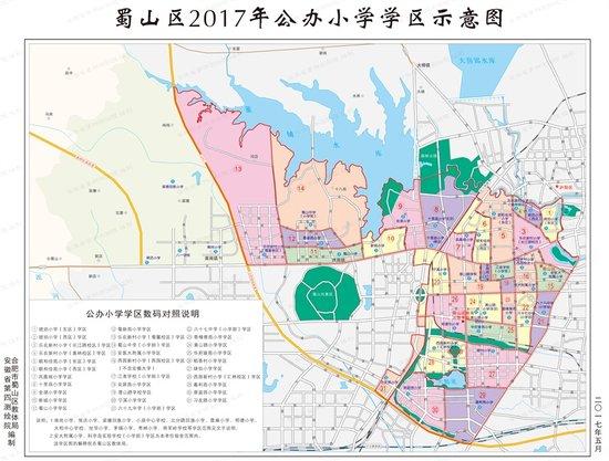 望江校区手绘地图