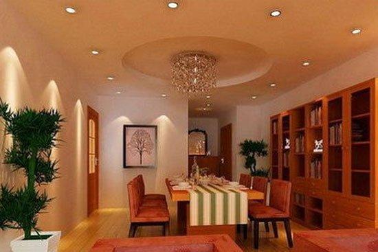 美式风格餐厅吊顶设计推荐