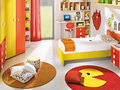 五色儿童房 充满童趣的可爱空间