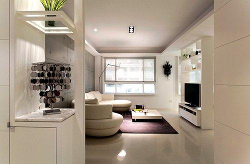 案例:纯白时尚舒适家 2套90平3房实用OK