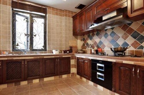 美式风格厨房装修攻略 复古有韵味(图)图片