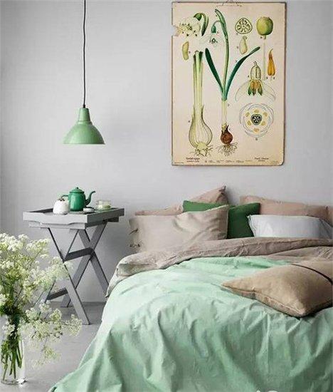 宁静优雅卧室 宅生活也有格调