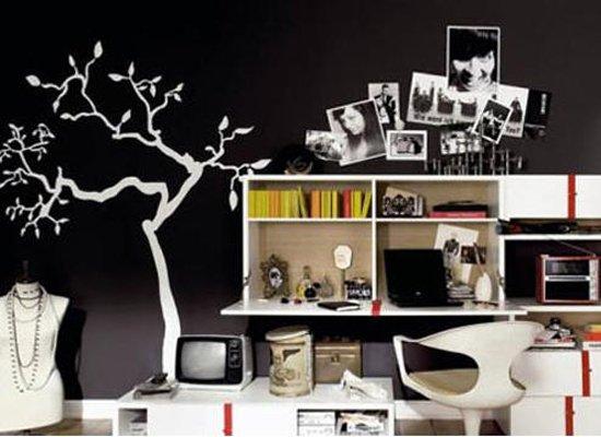 创意手绘背景墙 打造完美家居体验