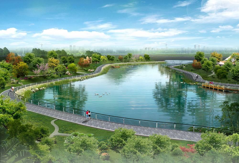 合肥今年底塘西河将水清岸美