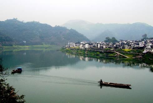 黄山市治水显成效 上半年新安江水质持续保持优良