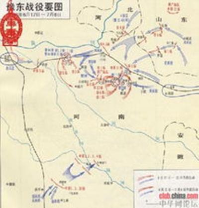 出其不意地攻占河南省会开封,并在睢县杞县地区歼灭区寿年兵团.图片