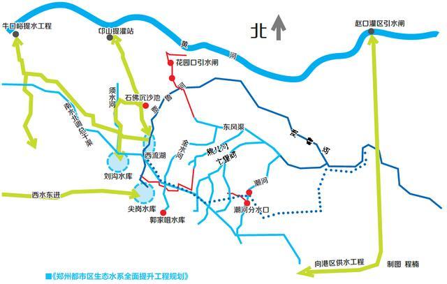 郑州黄河地图全图