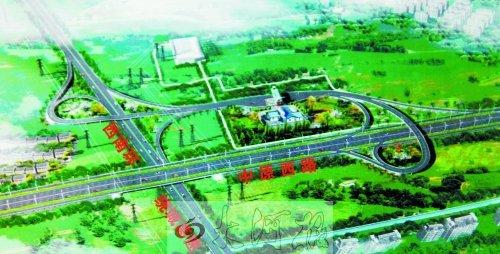 高速公路互通式立交设计要点分析与探讨