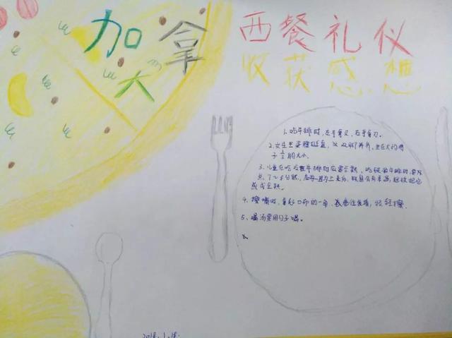 """艾瑞德国际学校举办加拿大研学""""西方礼仪""""交流会"""
