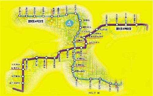 郑州地铁六号线线路图