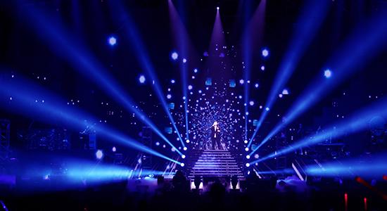 韩红郑州演唱会舞台初搭成 已进入彩排阶段图片