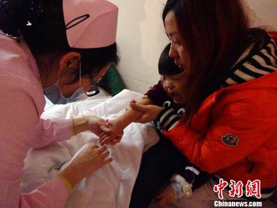 4岁男童患高氨血症病危母亲弃二胎欲献肝救儿(图)