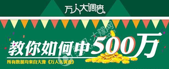 郑州彩平易近守号中550万年夜奖 率亲朋团前来领奖