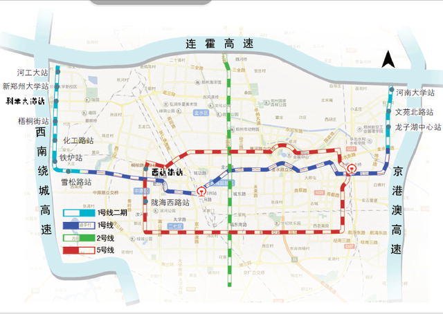 郑州地铁5号线年内全线开工 1号线二期本月开工
