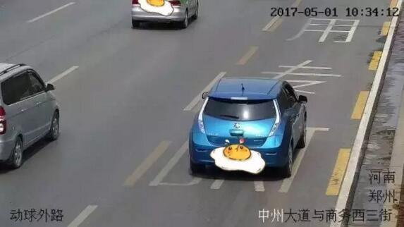 郑州360度违法抓拍 抓拍率最高的路口竟然在这里