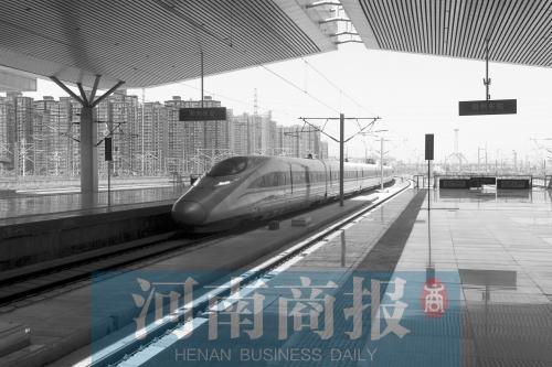 """砥砺奋进的五年:""""米""""字形高铁网逐渐形成 强化郑州东站枢纽功能"""