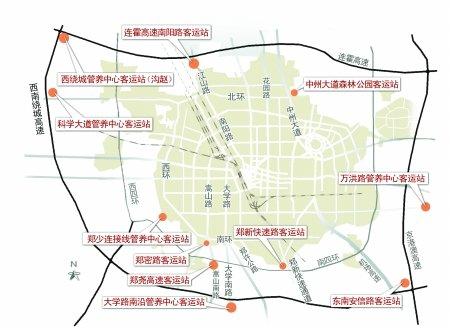 出入市口建设11个小型的长途客运汽车站,今年主要是开建森林公园和图片