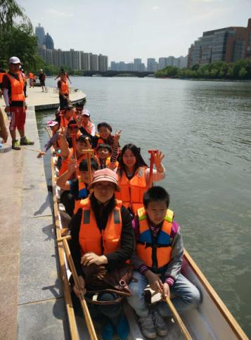 大豫龙舟代表组队首训 迎来第一波高潮