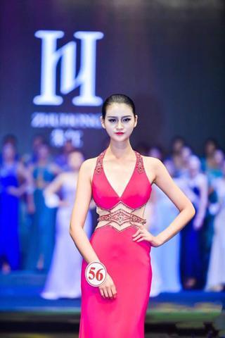 2018丝绸之路世界模特大赛中国总决赛 商丘两名高中生