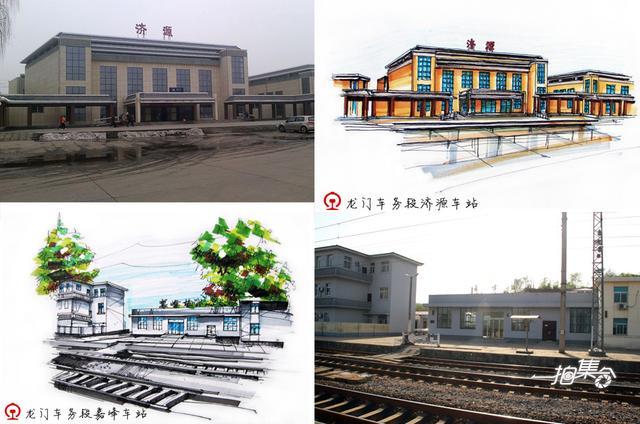 一拍聚集:铁路工手绘河南小站美景 全国走红