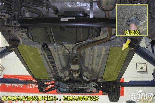 汽车频道 试驾评测 正文    k2底盘与瑞纳相同,均没有发动机护板,底盘