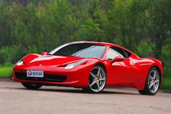 超越完美 体验试驾法拉利458italia