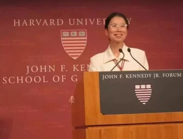 15岁考入郑大19岁留校 她双目失明成哈佛大学奇迹