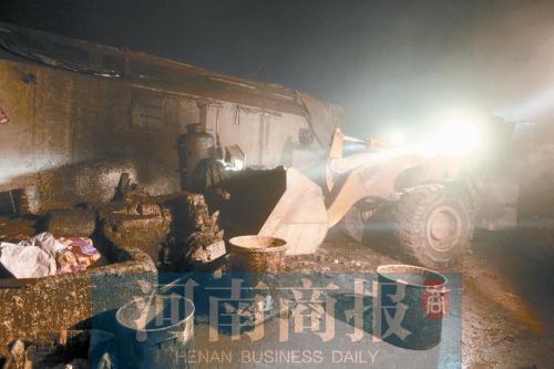 郑州多部门连夜查处 捣毁多个地沟油黑窝点