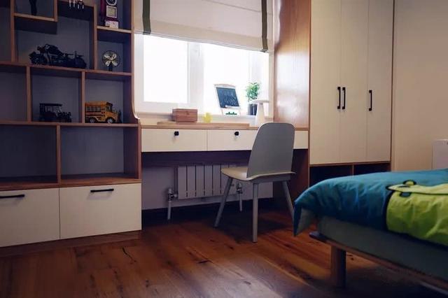 另外书桌靠窗比床靠窗开关窗户要更方便一些图片