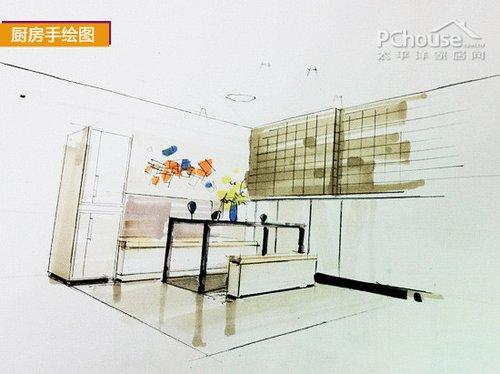 明清屏风家具手绘图