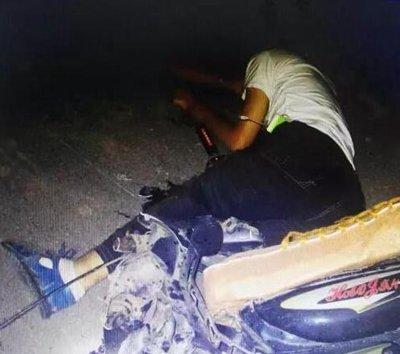 漯河凌晨发生一起惨烈车祸 造成一死一伤