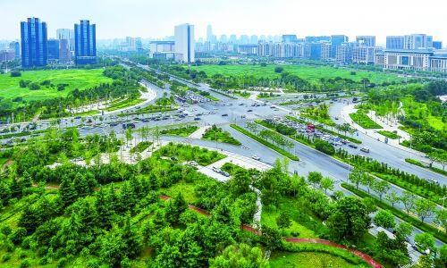 郑州首条生态廊道又增新景点