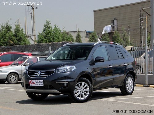 东风雷诺首款产品将是SUV车型科雷傲-2016年产科雷傲 东风雷诺合资高清图片