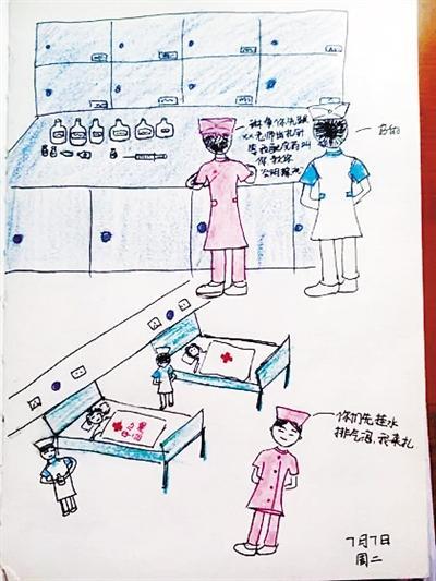 90后小护士漫画记录生活实习a漫画网络漫画宝微信图片
