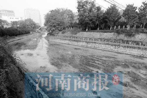 郑州金水河河水酿成奶利剑色 排污单元谢绝整改