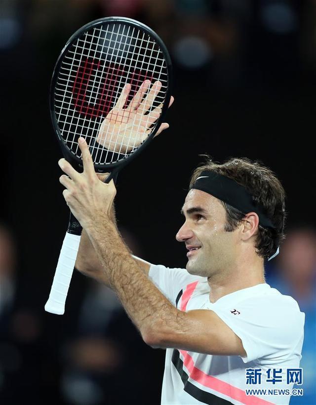 (体育)(5)网球——澳网男单决赛:费德勒夺冠