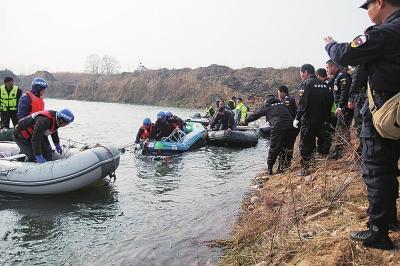 黄河孟津段3天3人溺亡 洛阳神鹰救援队两赴救援