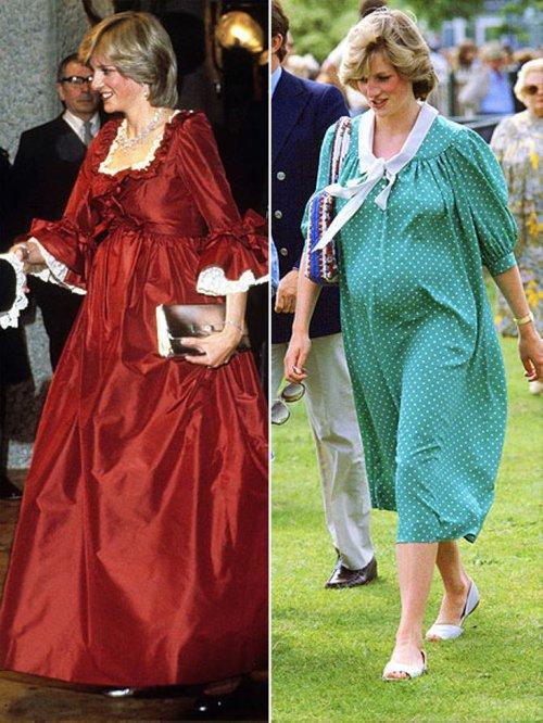 期待凯特 盘点英国皇室准妈妈造型
