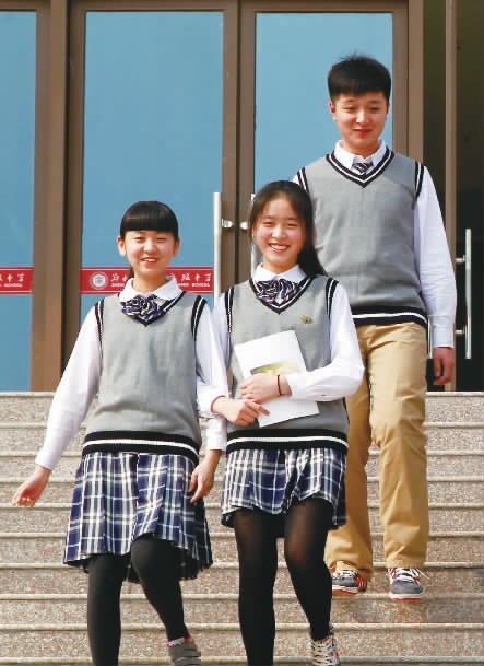 英伦一中学学生自己v学生郑州风新性感(图)校服演唱会张靓颖图片