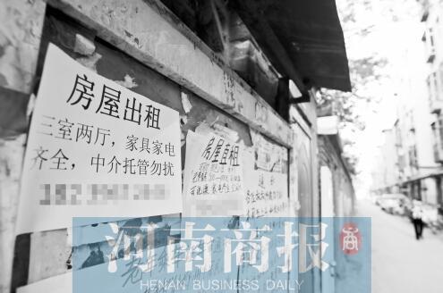 郑州房租年年涨今年涨不动 一大批刚需族已买房
